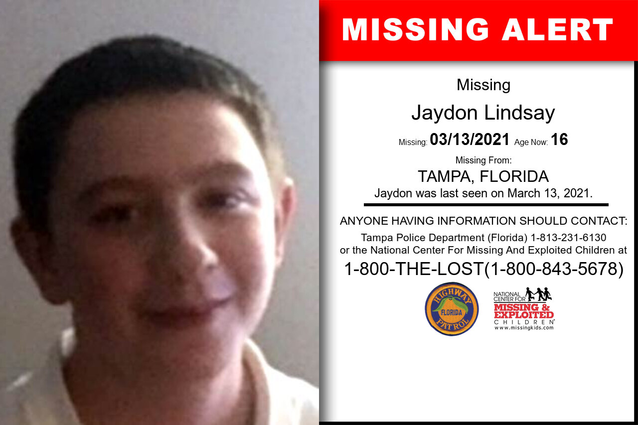 Jaydon_Lindsay missing in Florida