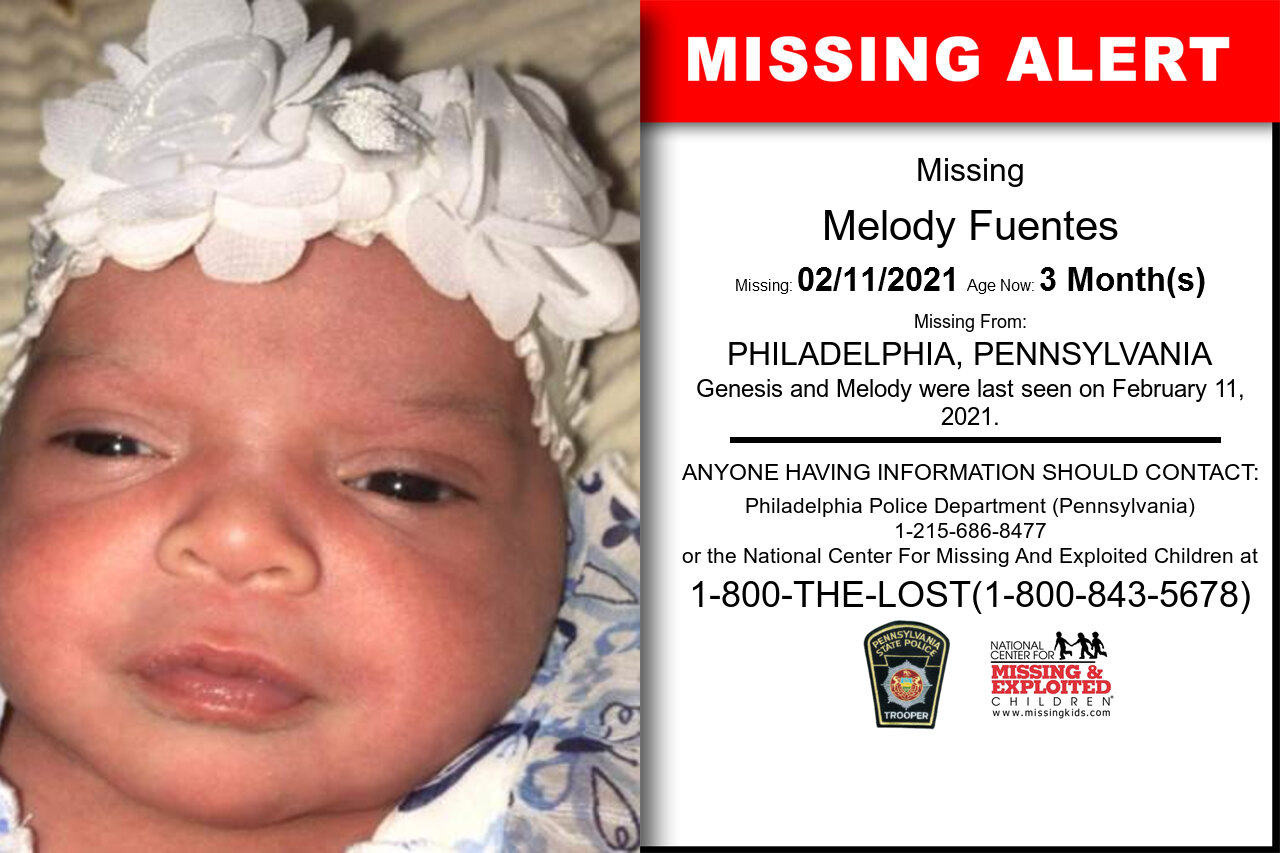 Melody_Fuentes missing in Pennsylvania