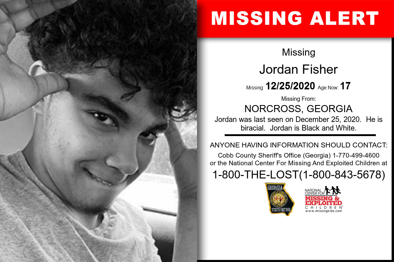 Jordan_Fisher missing in Georgia