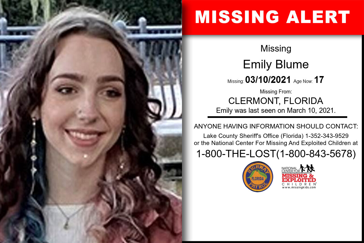 Emily_Blume missing in Florida
