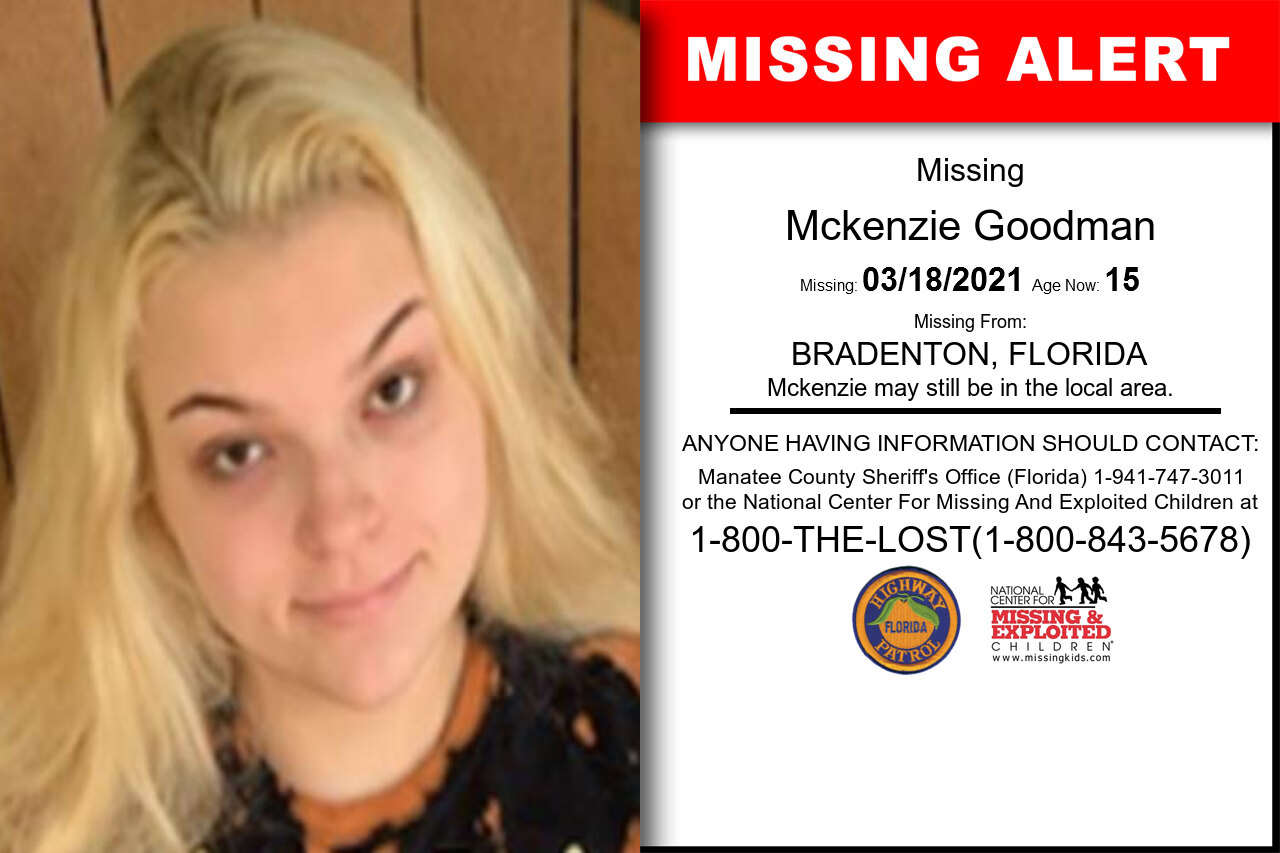 Mckenzie_Goodman missing in Florida