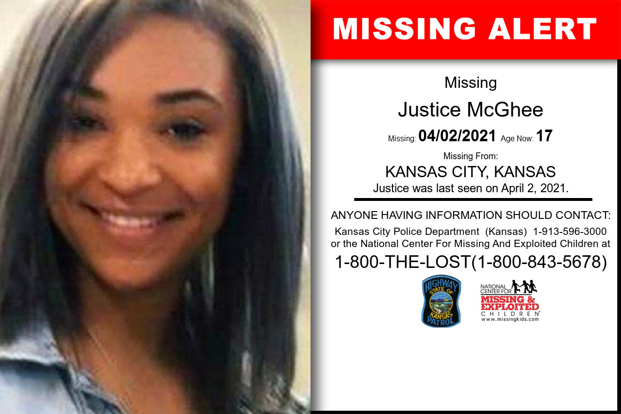 Justice_McGhee missing in Kansas