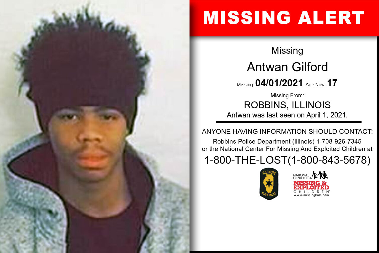 Antwan_Gilford missing in Illinois