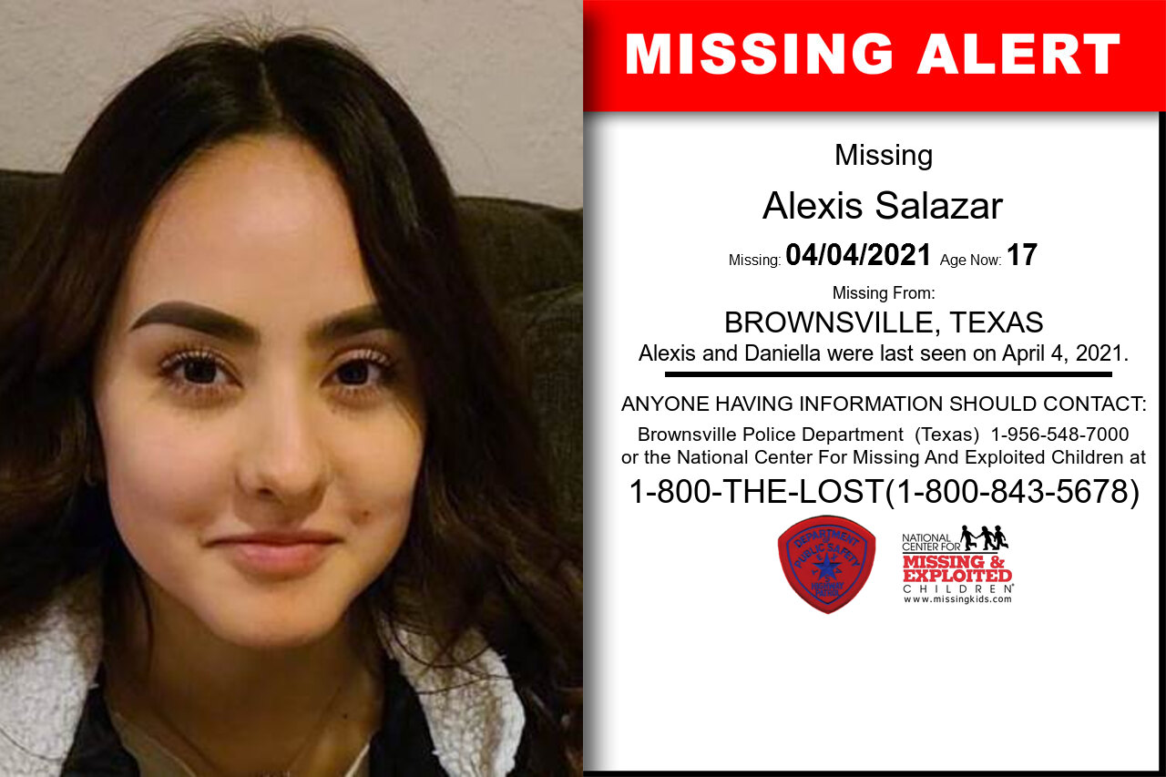 Alexis_Salazar missing in Texas