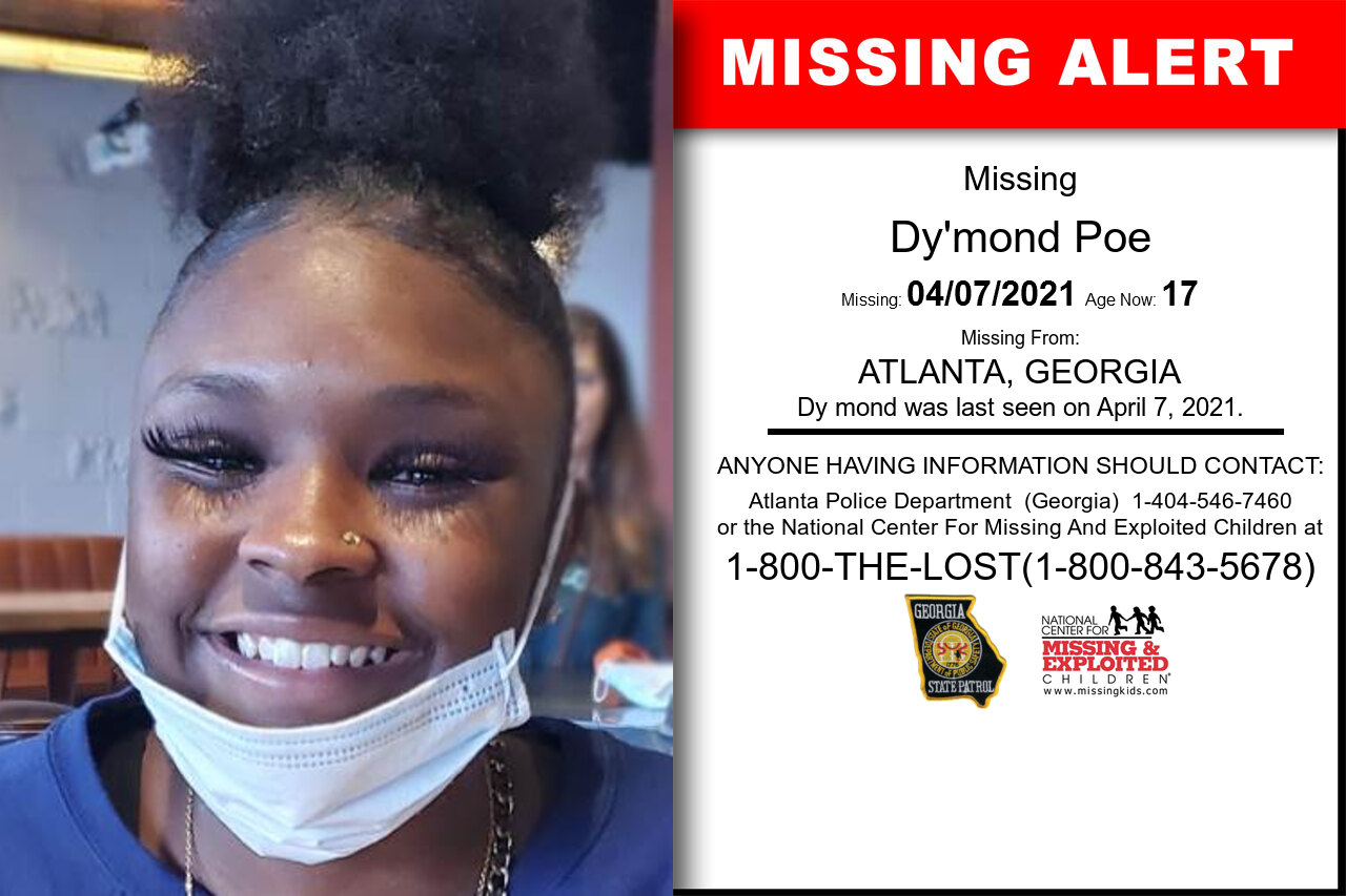 Dy'mond_Poe missing in Georgia