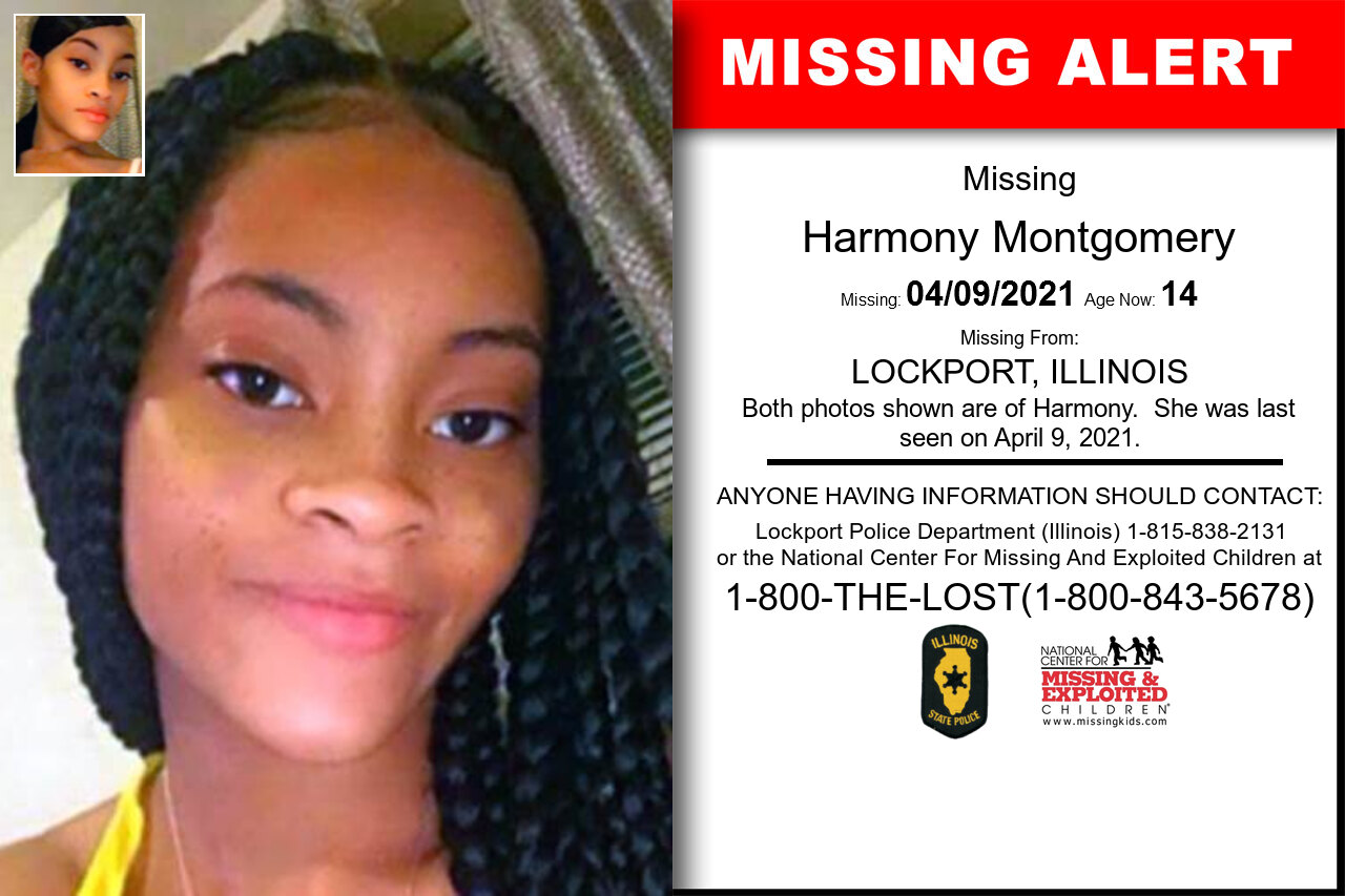 Harmony_Montgomery missing in Illinois