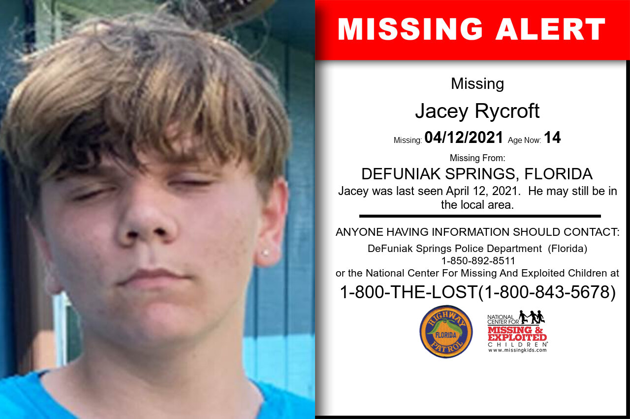 Jacey_Rycroft missing in Florida