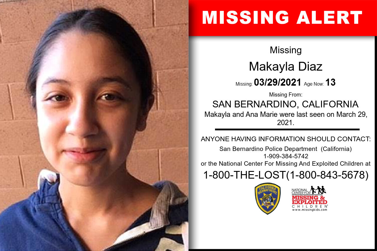 Makayla_Diaz missing in California