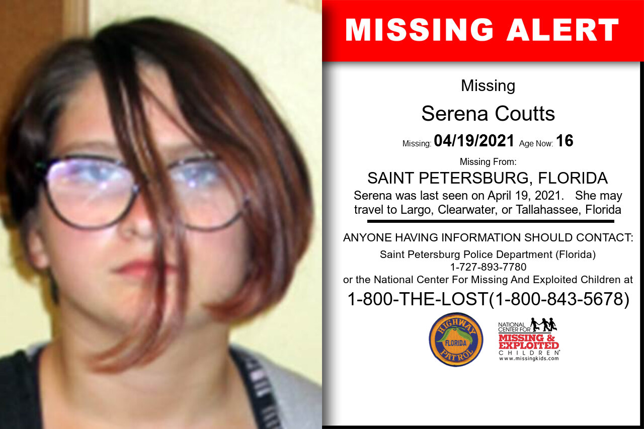 Serena_Coutts missing in Florida