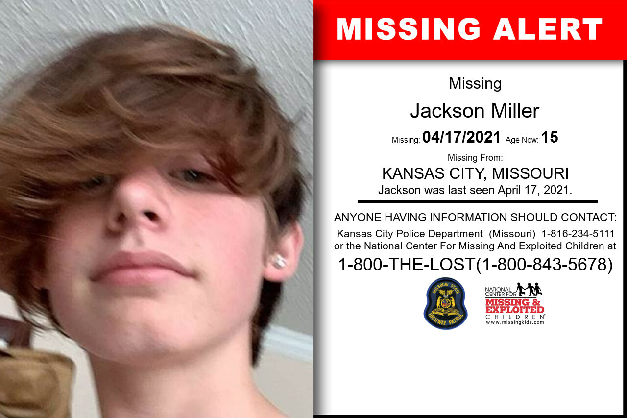 Jackson_Miller missing in Missouri