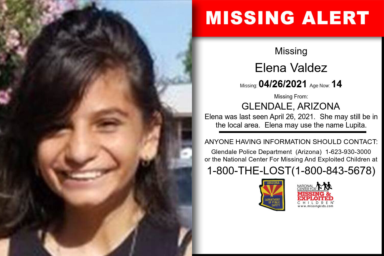 Elena_Valdez missing in Arizona