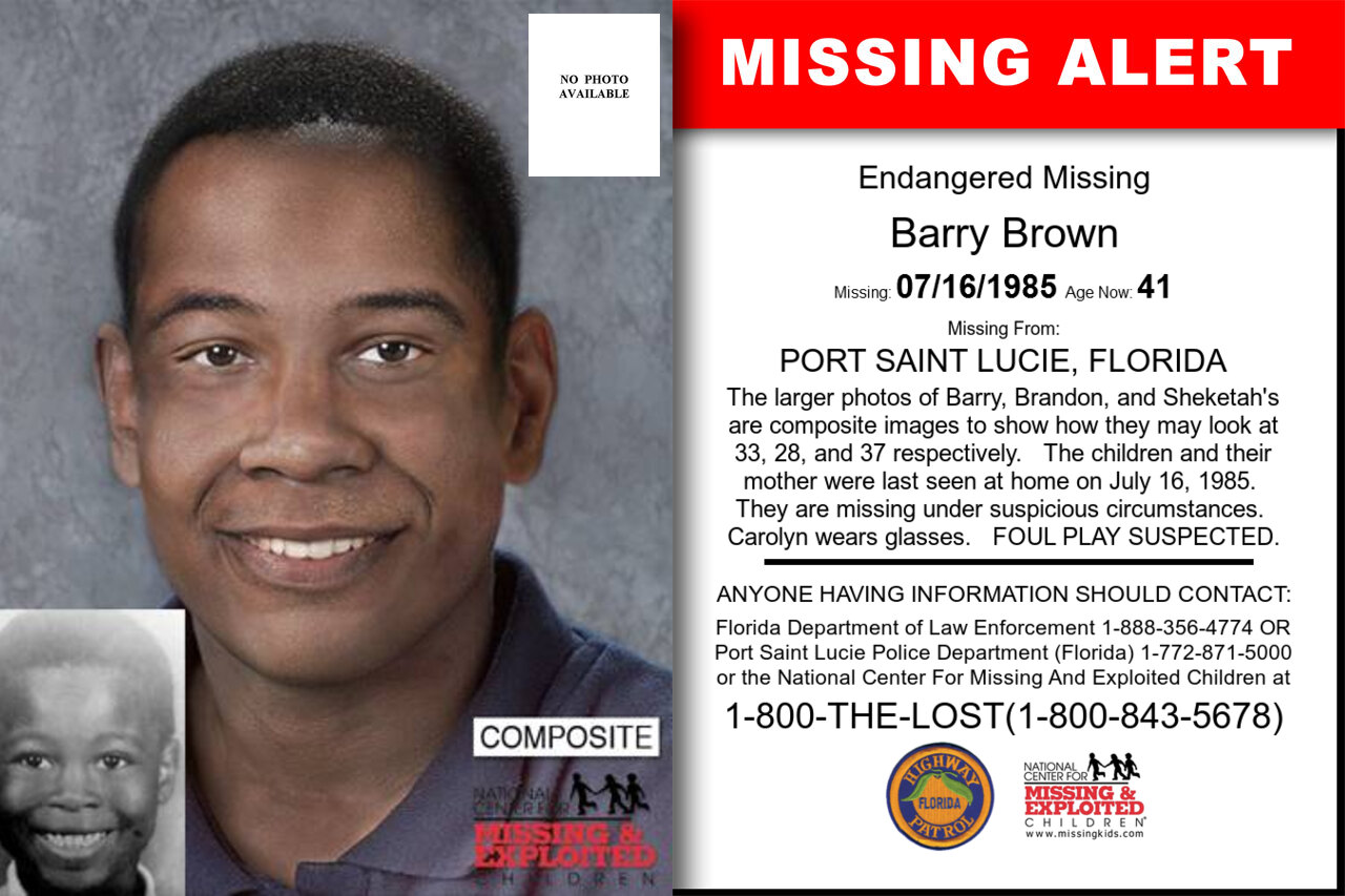 Barry_Brown missing in Florida
