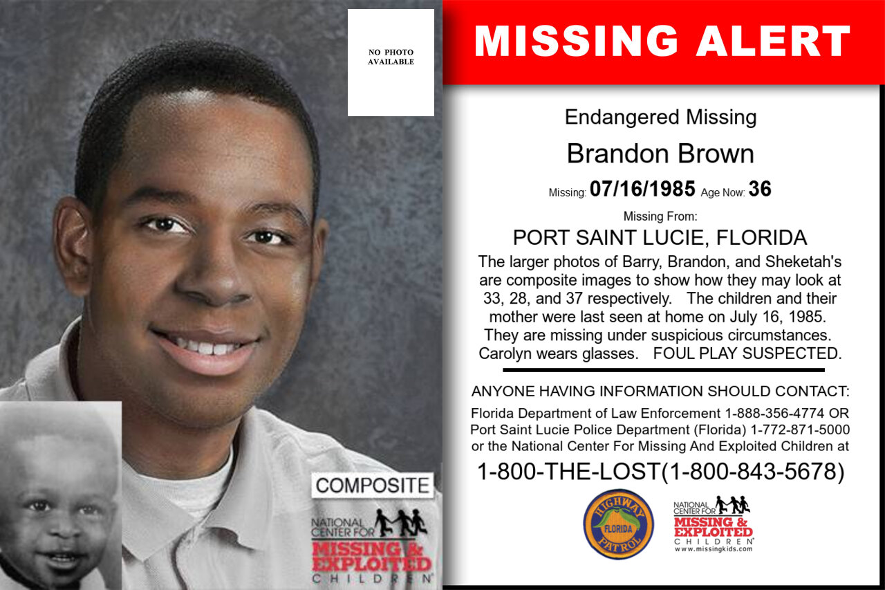 Brandon_Brown missing in Florida