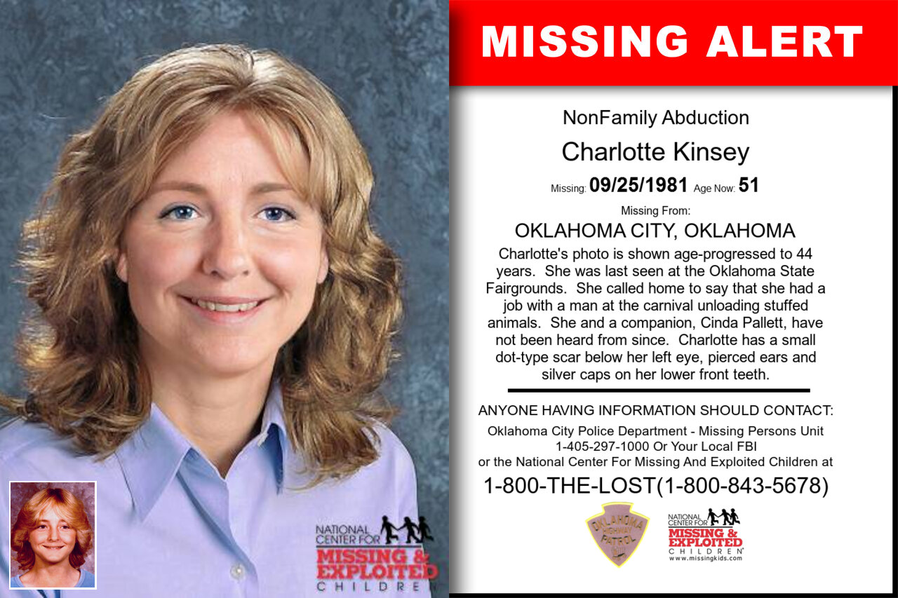 Charlotte_Kinsey missing in Oklahoma