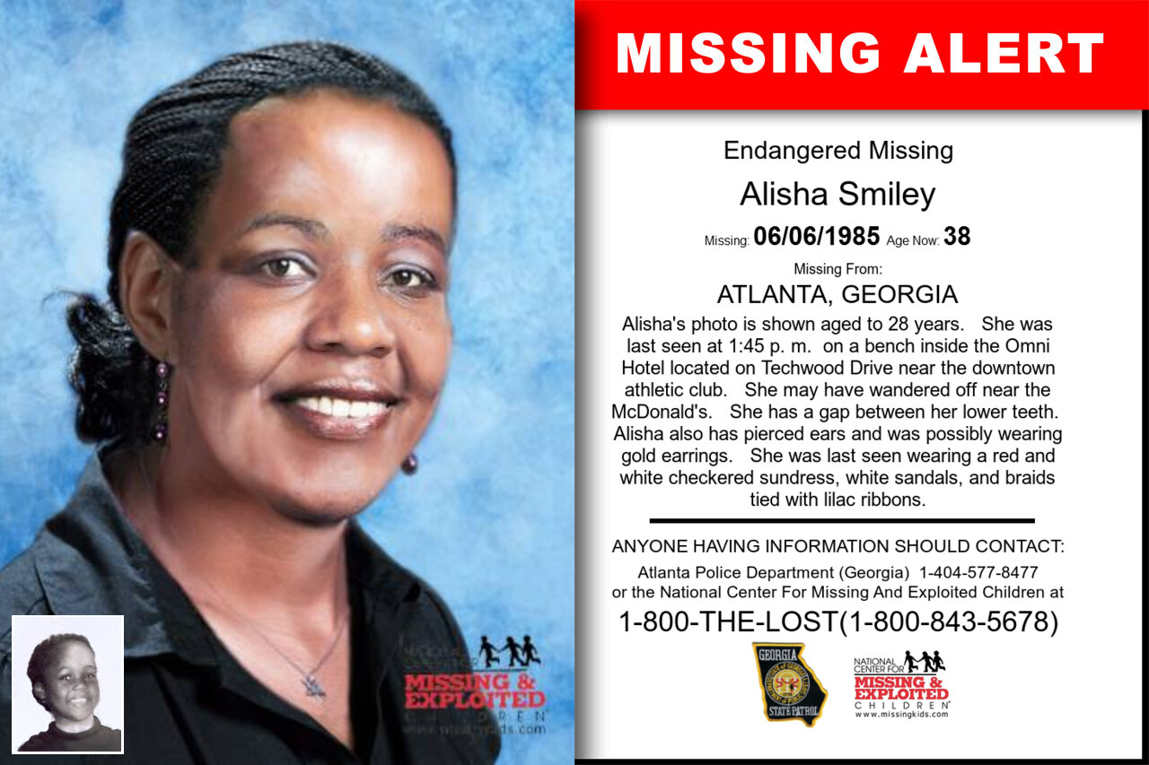 Alisha_Smiley missing in Georgia