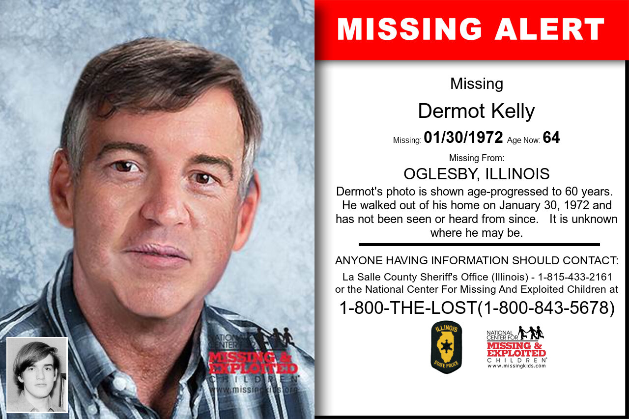 Dermot_Kelly missing in Illinois