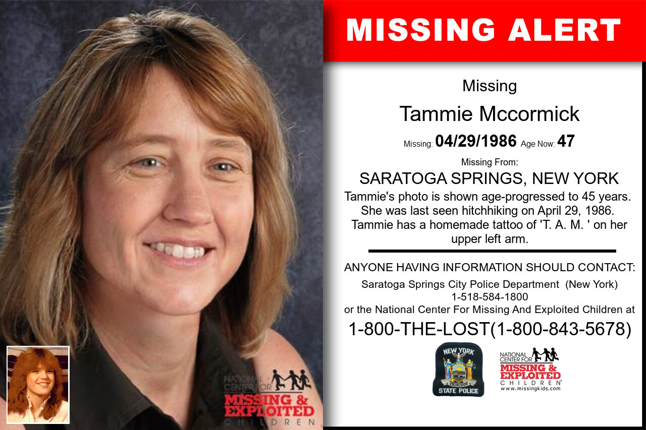Tammie_Mccormick missing in New_York