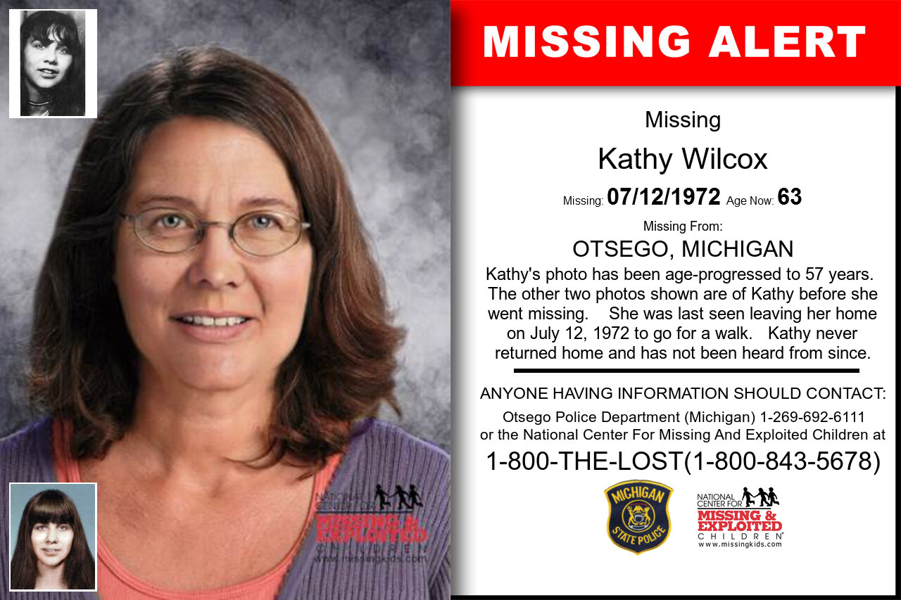 Kathy_Wilcox missing in Michigan