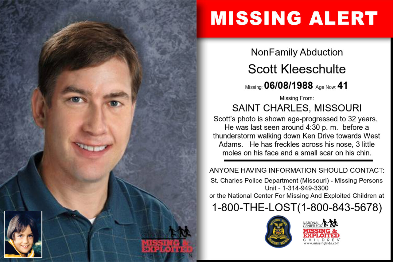 Scott_Kleeschulte missing in Missouri