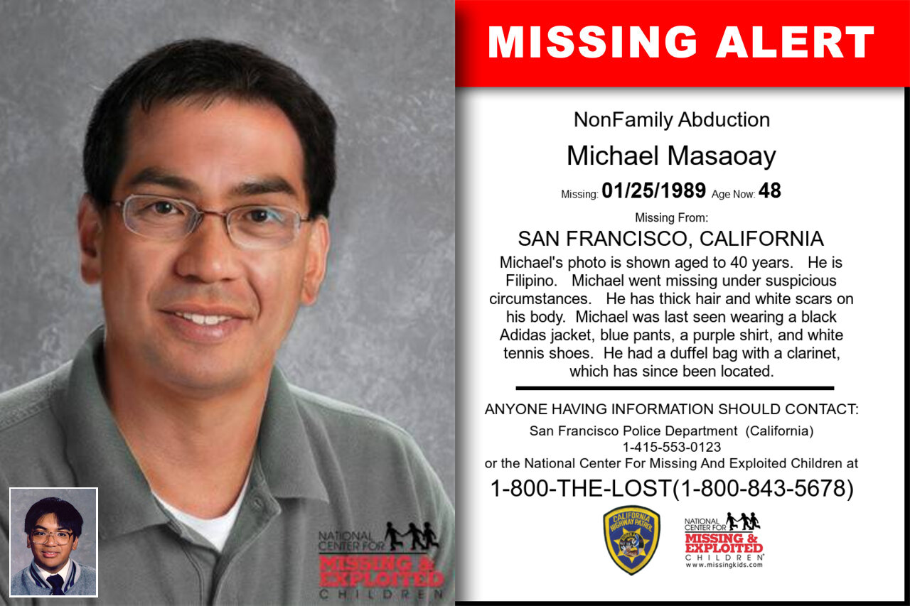 Michael_Masaoay missing in California