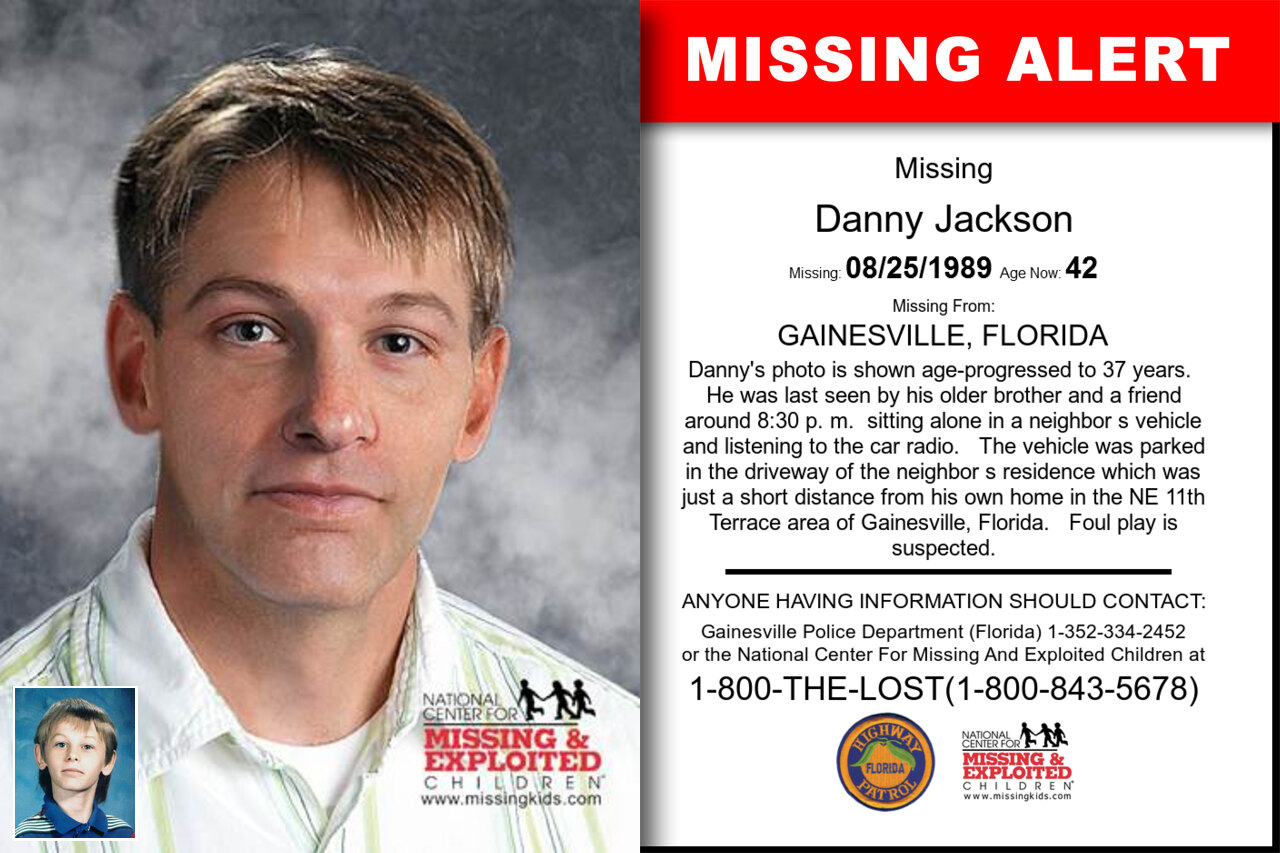 Danny_Jackson missing in Florida