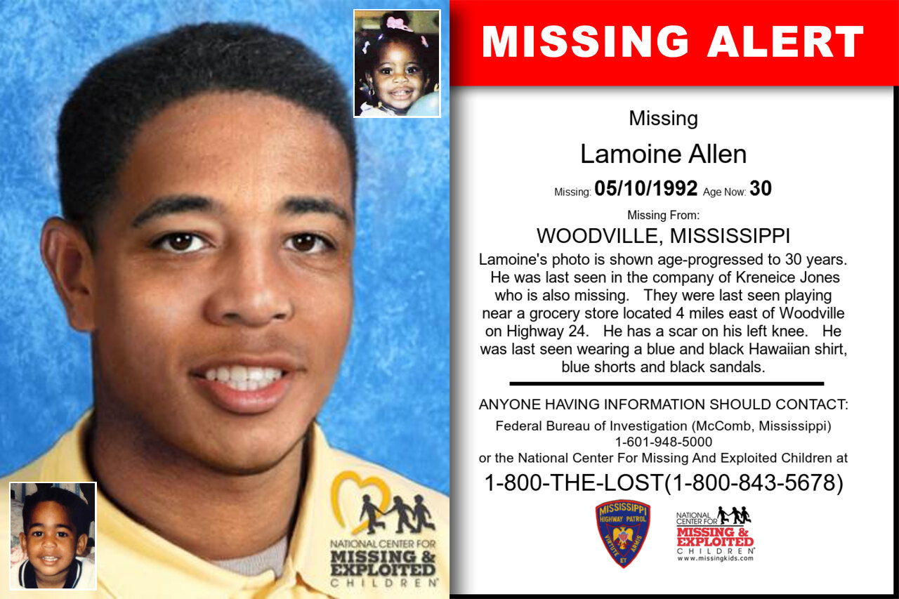 Lamoine_Allen missing in Mississippi