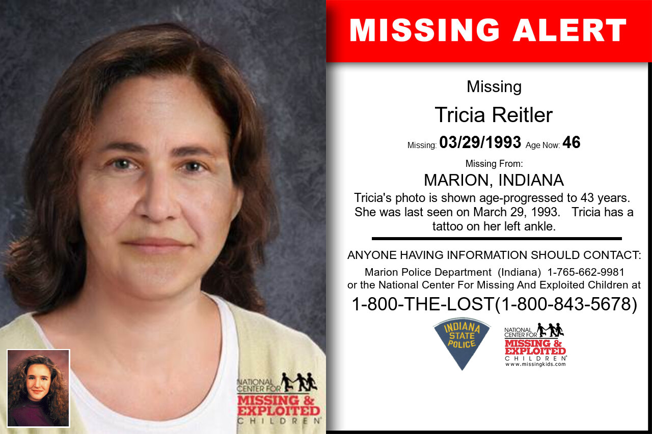 Tricia_Reitler missing in Indiana