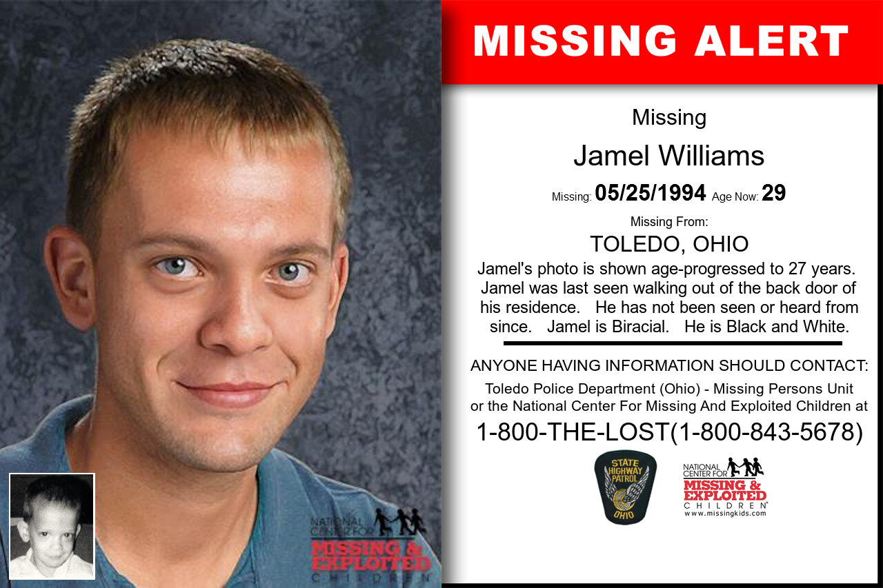 Jamel_Williams missing in Ohio