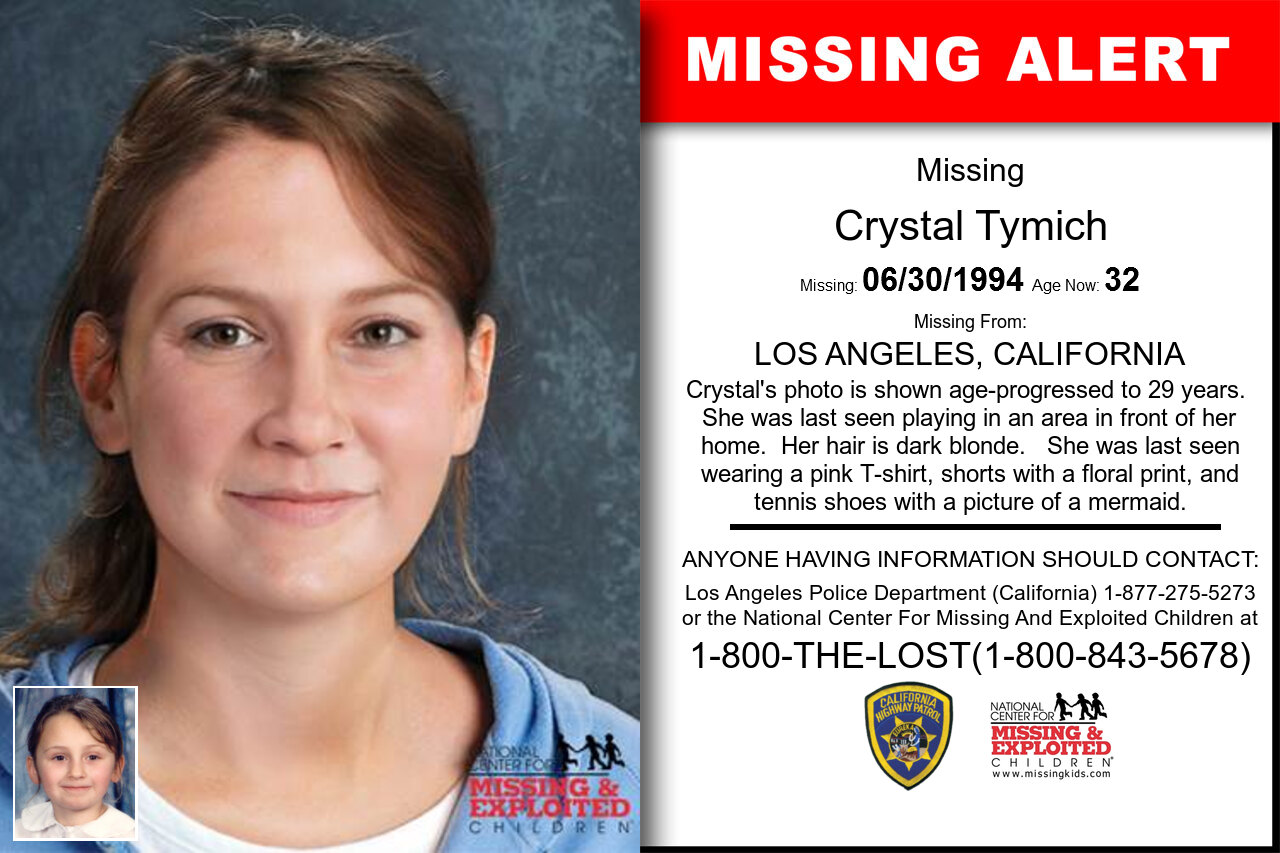 Crystal_Tymich missing in California