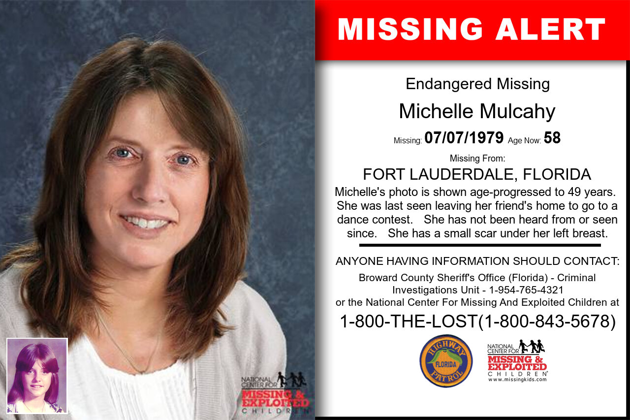 Michelle_Mulcahy missing in Florida