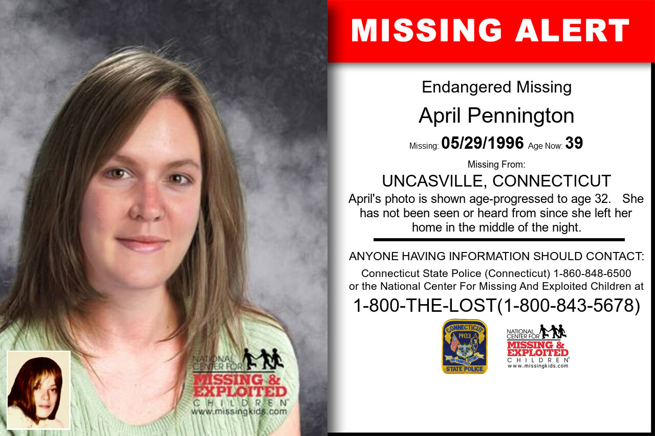 April_Pennington missing in Connecticut