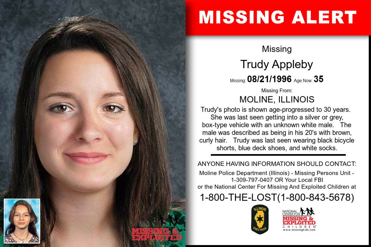 Trudy_Appleby missing in Illinois
