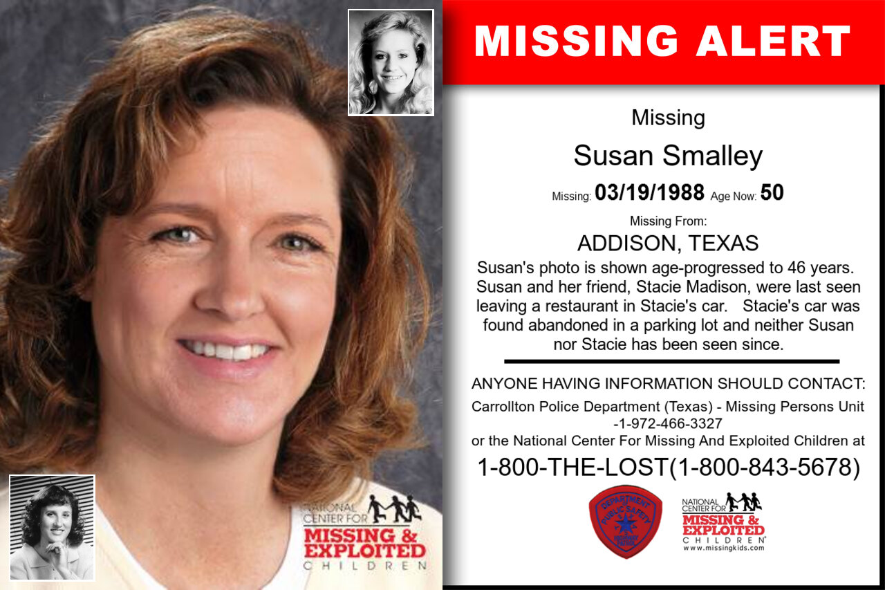 Susan_Smalley missing in Texas