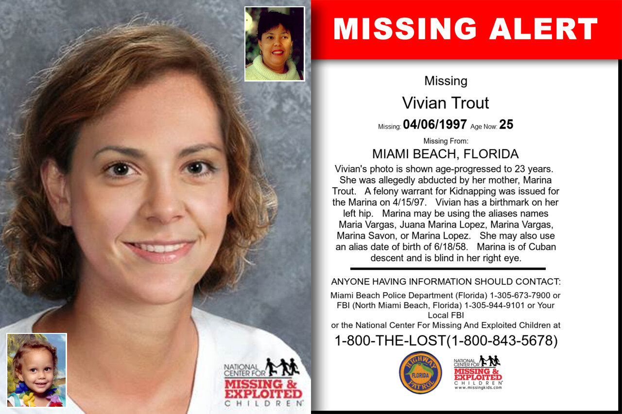 Vivian_Trout missing in Florida