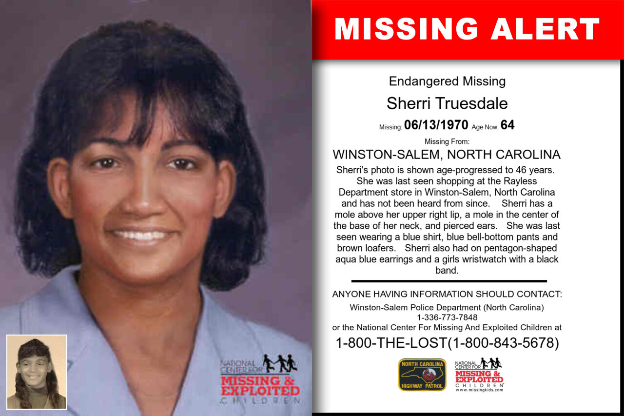Sherri_Truesdale missing in North_Carolina
