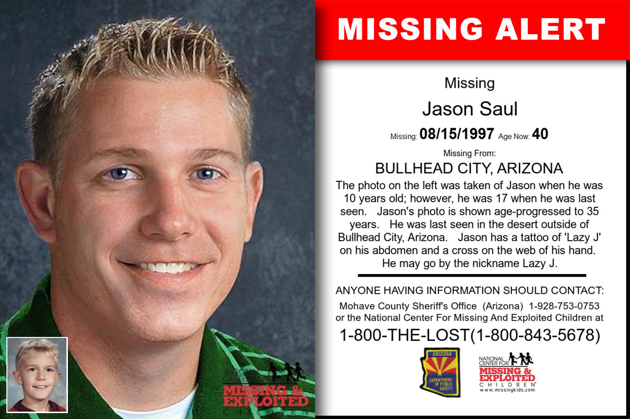 Jason_Saul missing in Arizona