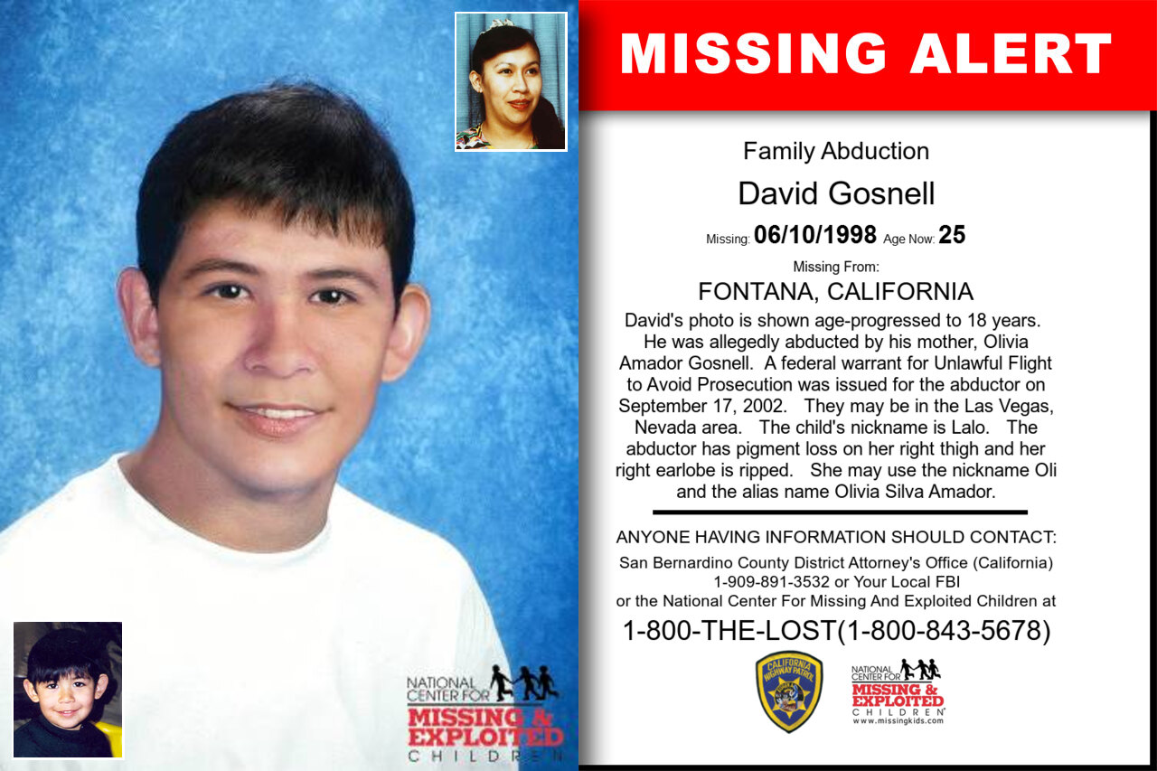 David_Gosnell missing in California