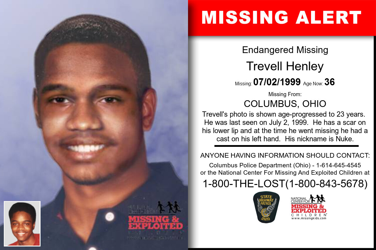 Trevell_Henley missing in Ohio