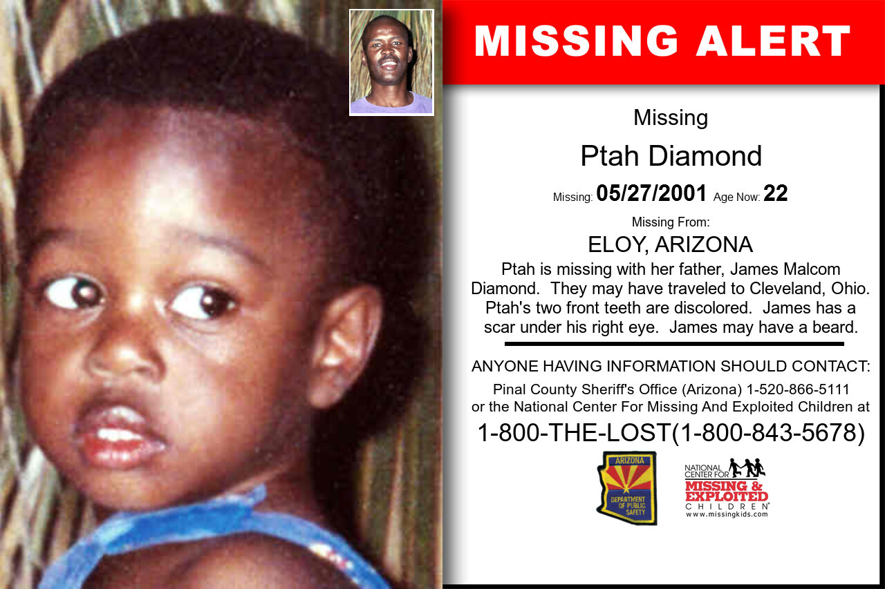 Ptah_Diamond missing in Arizona