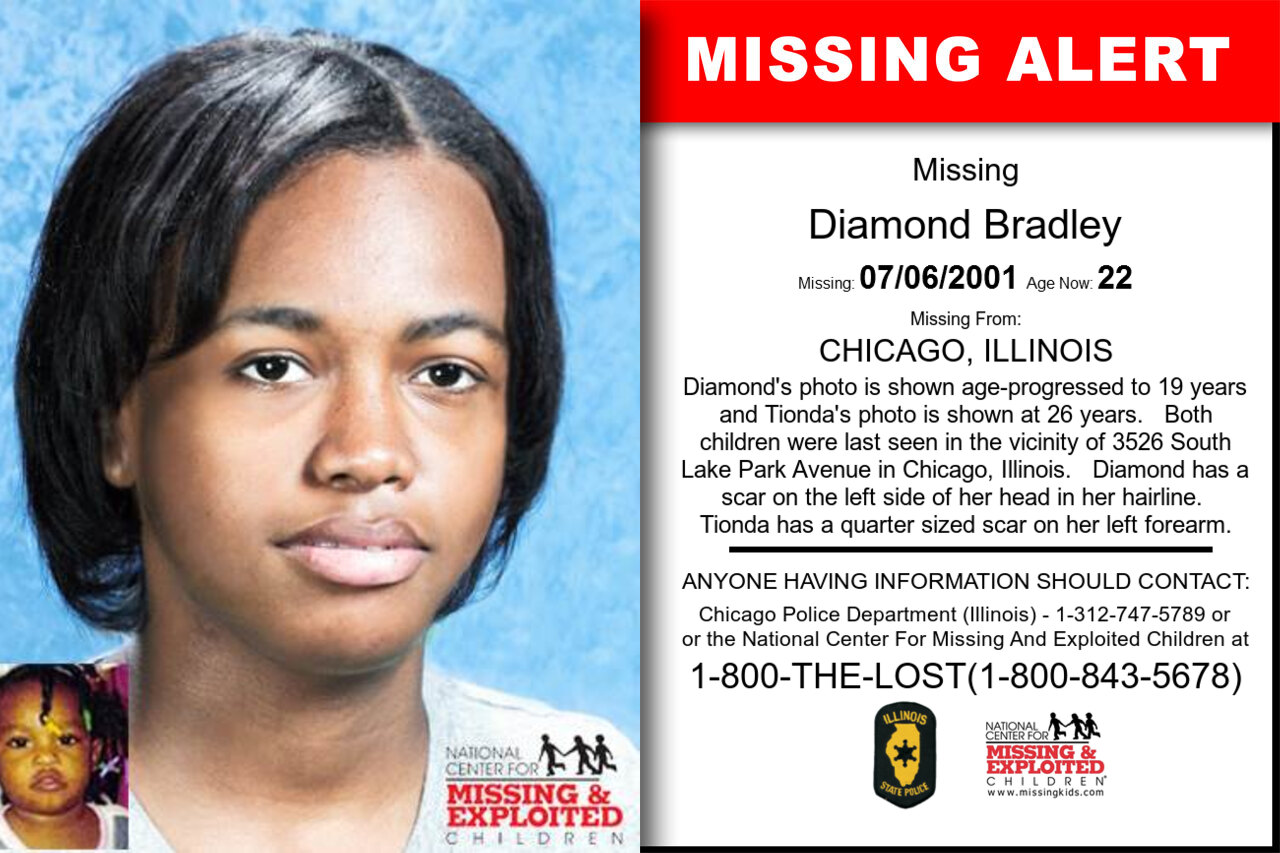 Diamond_Bradley missing in Illinois