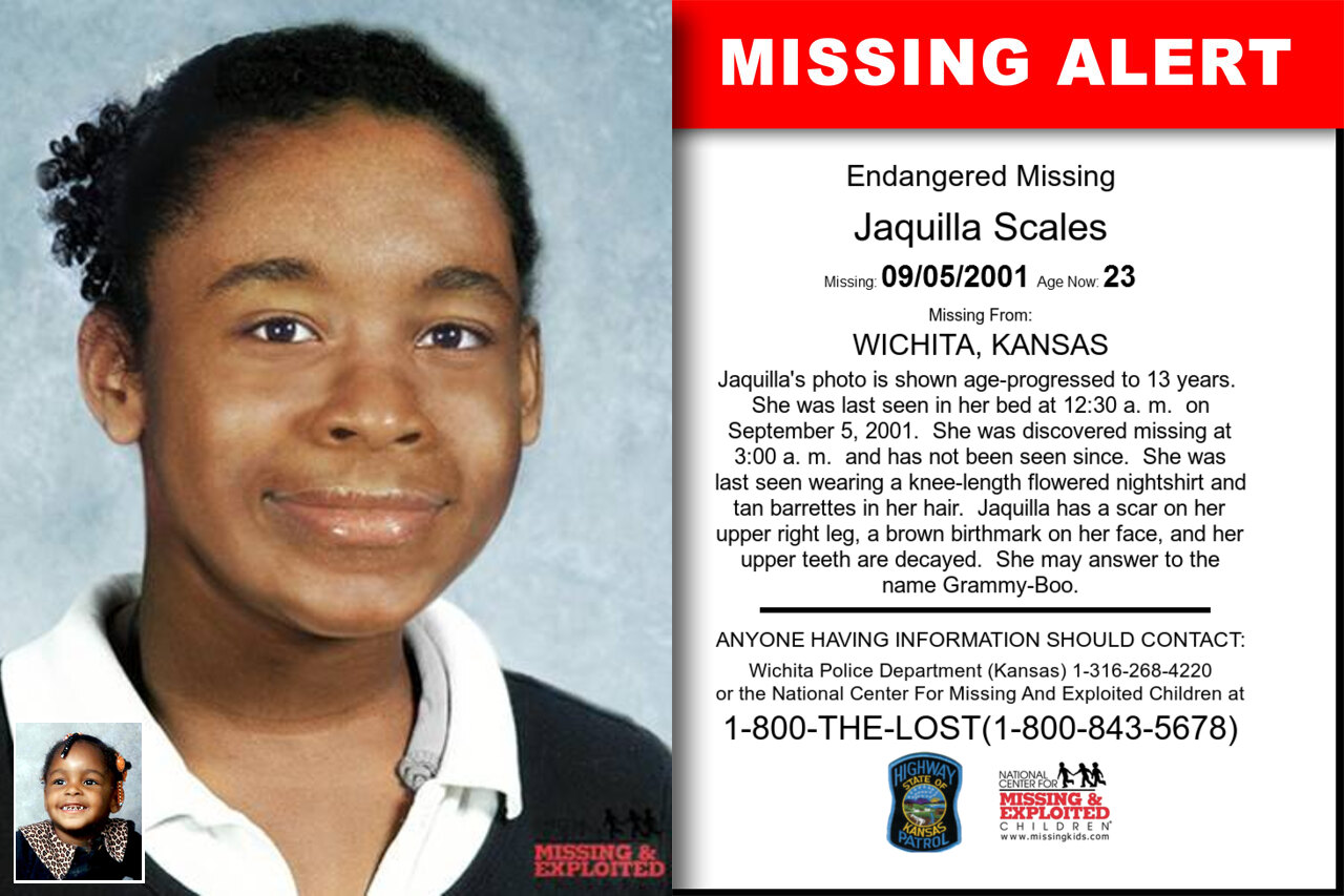 Jaquilla_Scales missing in Kansas