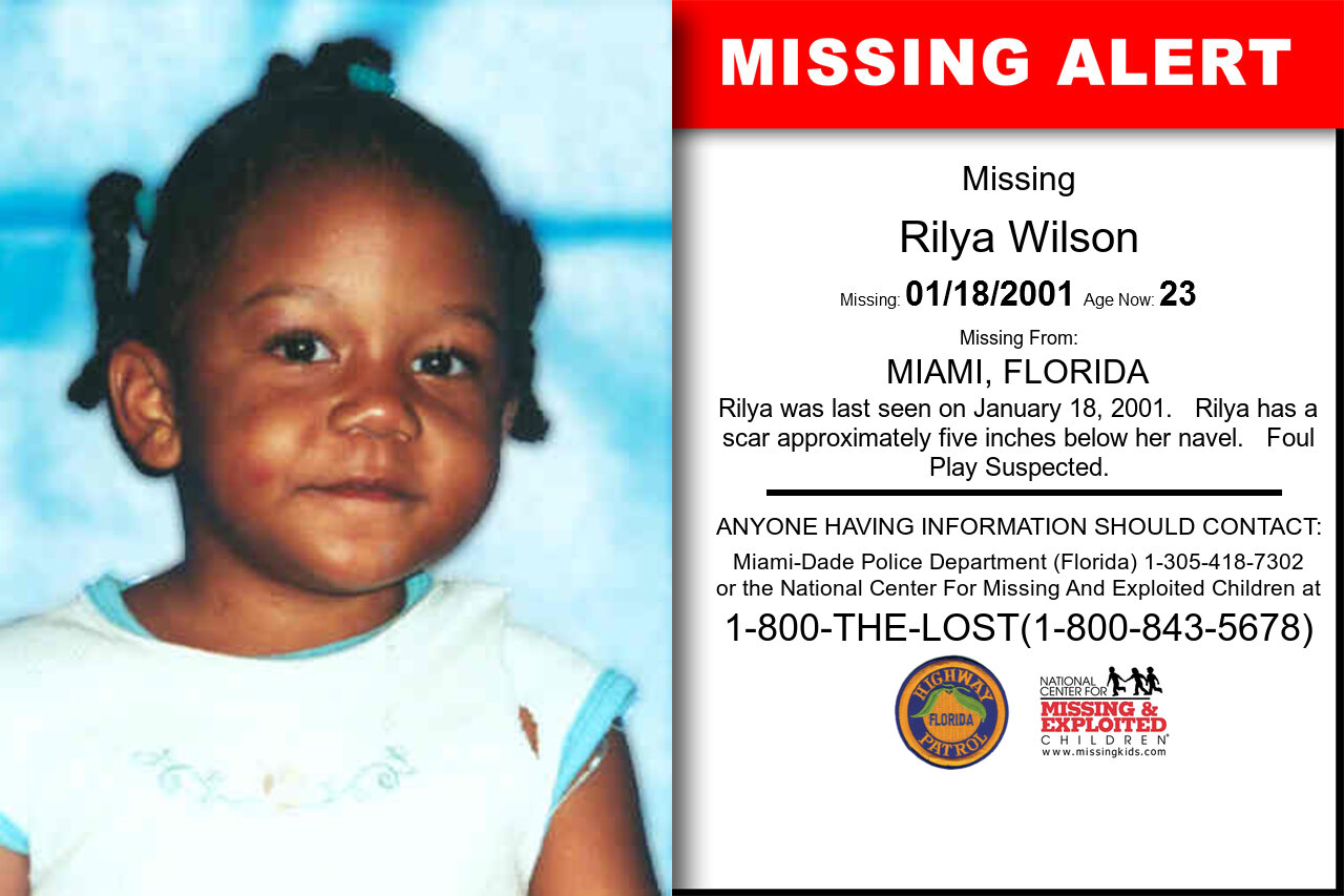 Rilya_Wilson missing in Florida
