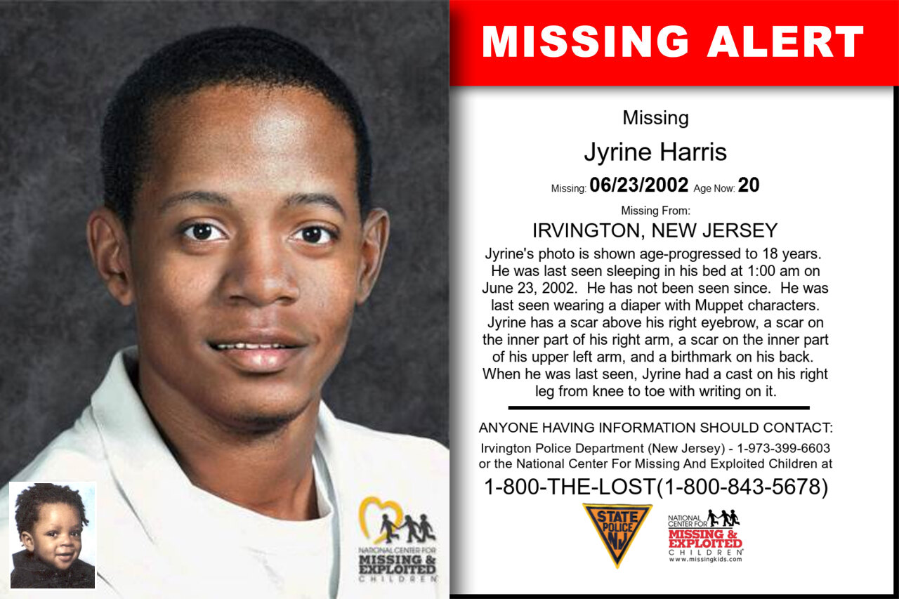 Jyrine_Harris missing in New_Jersey