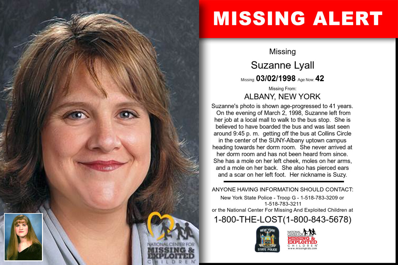 Suzanne_Lyall missing in New_York