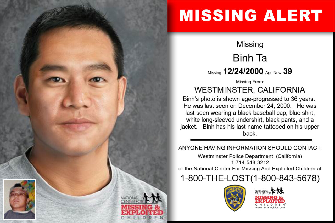 Binh_Ta missing in California
